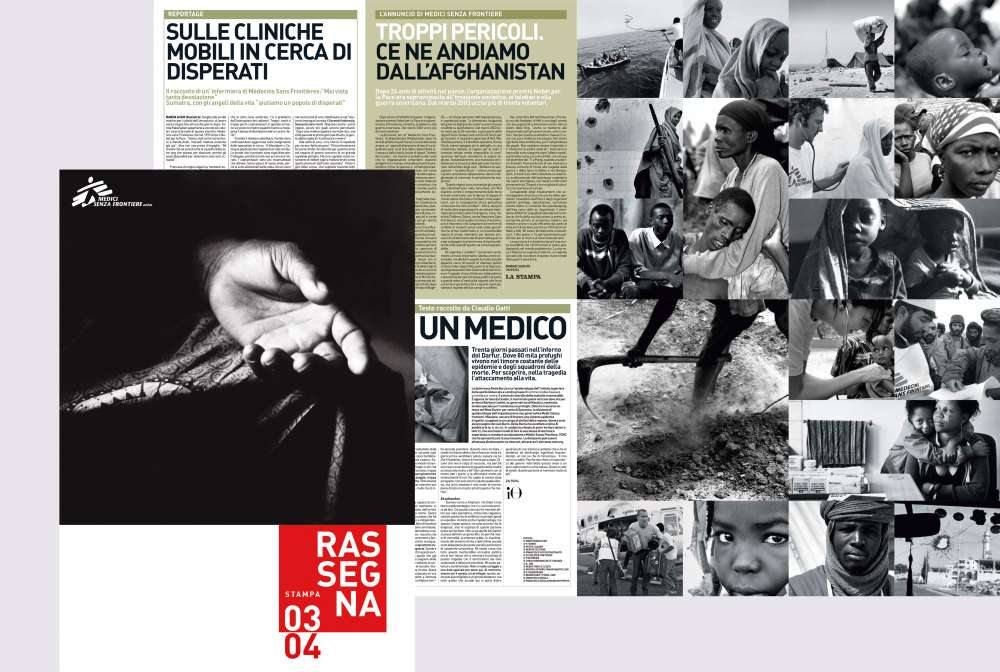 Medici Senza Frontiere − Editoria e Direct mailing